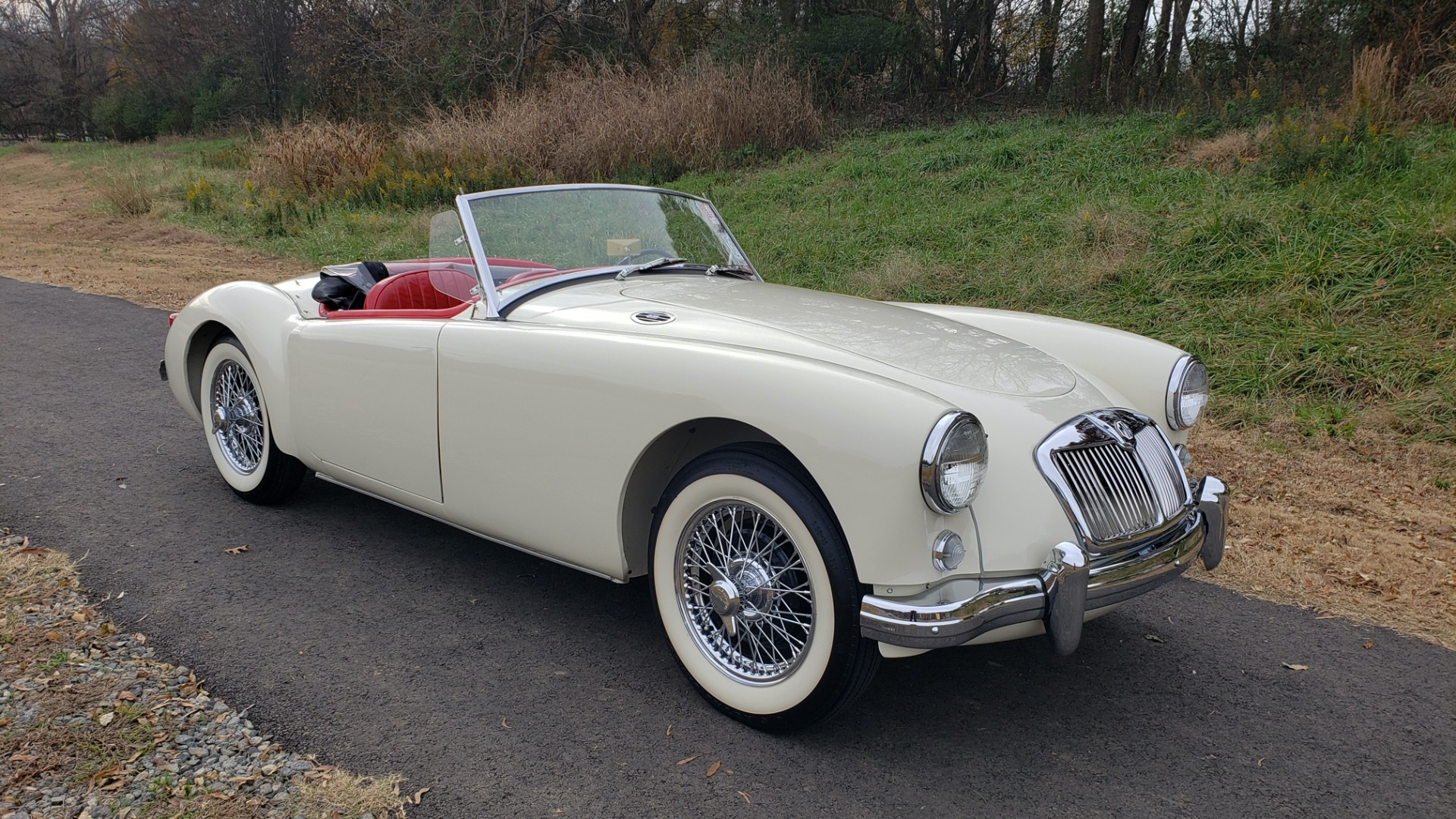 Used 1956 MG A ROADSTER / 4-SPD MAN / FULLY RESTORED / ALL NEW for sale $33,950 at Formula Imports in Charlotte NC 28227 12