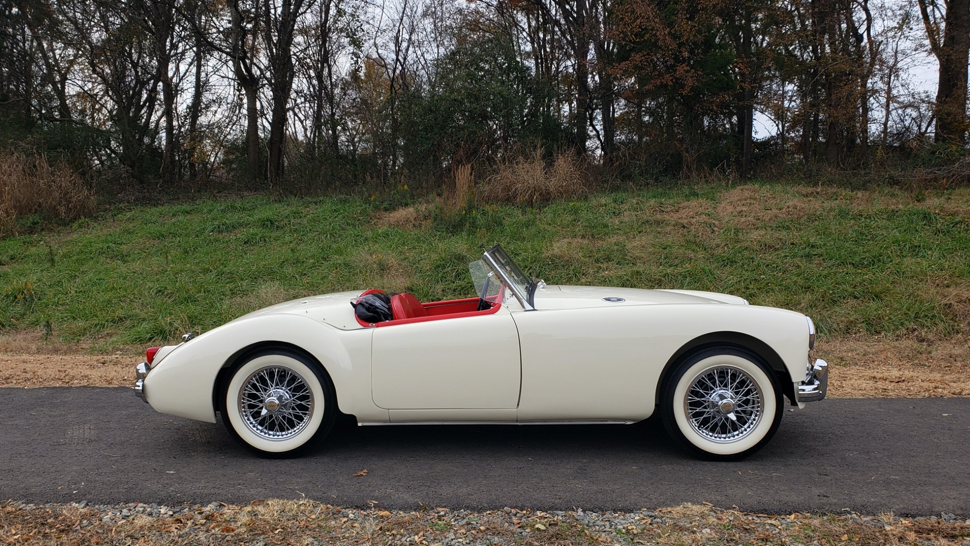 Used 1956 MG A ROADSTER / 4-SPD MAN / FULLY RESTORED / ALL NEW / SHOWROOM CONDITION for sale Sold at Formula Imports in Charlotte NC 28227 13