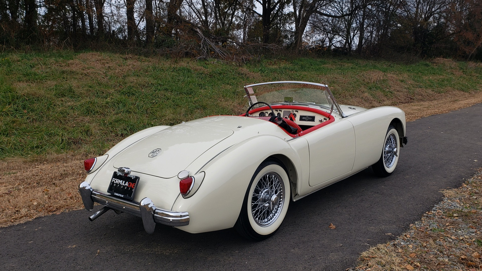 Used 1956 MG A ROADSTER / 4-SPD MAN / FULLY RESTORED / ALL NEW / SHOWROOM CONDITION for sale Sold at Formula Imports in Charlotte NC 28227 14