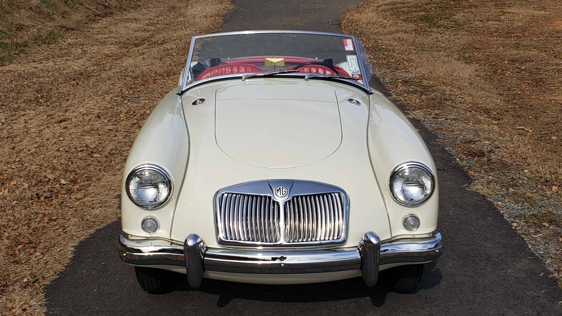 Used 1956 MG A ROADSTER / 4-SPD MAN / FULLY RESTORED / ALL NEW / SHOWROOM CONDITION for sale Sold at Formula Imports in Charlotte NC 28227 15