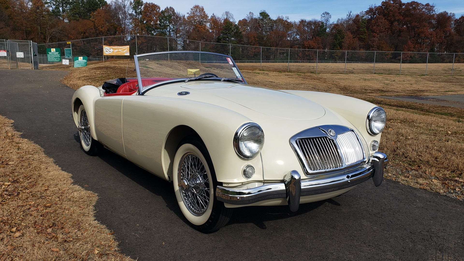 Used 1956 MG A ROADSTER / 4-SPD MAN / FULLY RESTORED / ALL NEW / SHOWROOM CONDITION for sale Sold at Formula Imports in Charlotte NC 28227 16