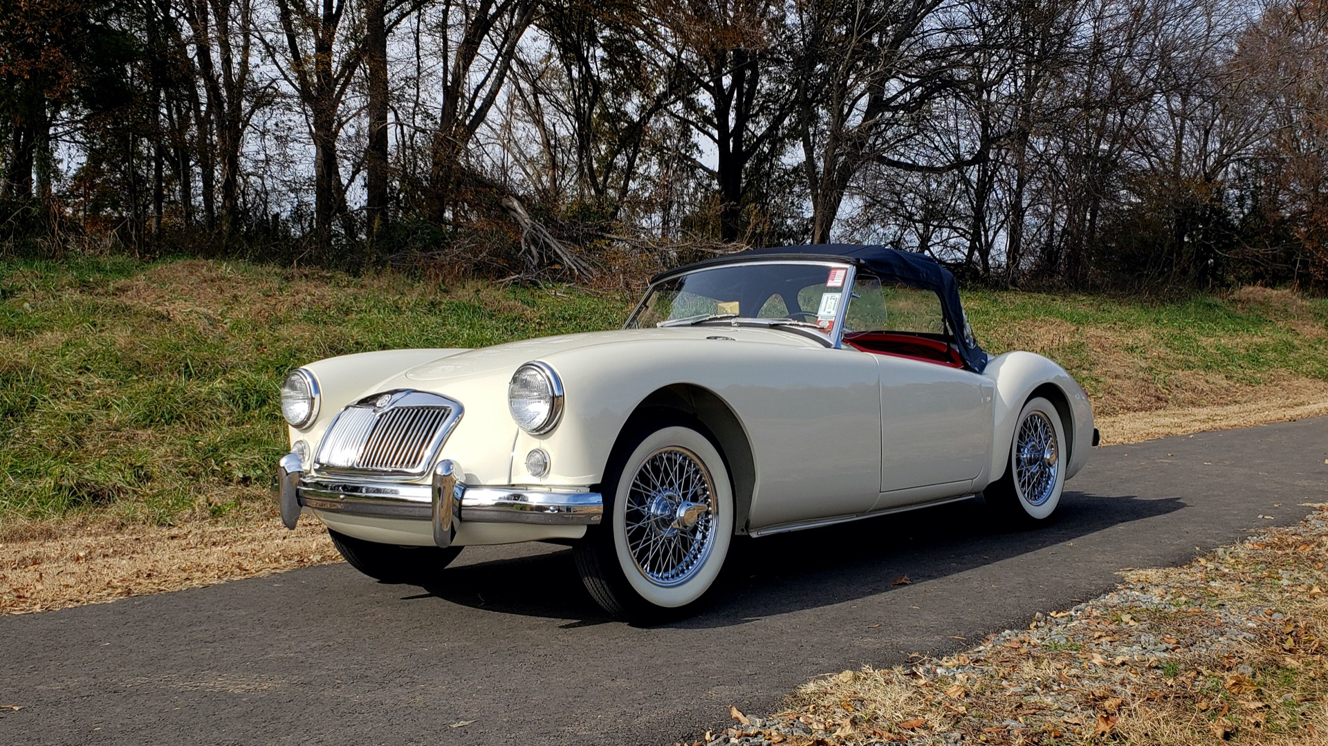 Used 1956 MG A ROADSTER / 4-SPD MAN / FULLY RESTORED / ALL NEW / SHOWROOM CONDITION for sale Sold at Formula Imports in Charlotte NC 28227 17