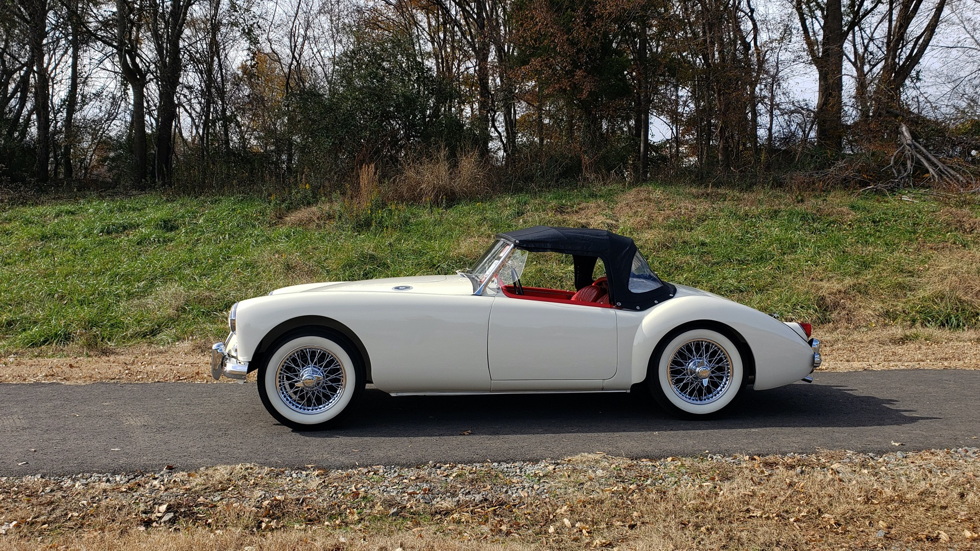 Used 1956 MG A ROADSTER / 4-SPD MAN / FULLY RESTORED / ALL NEW for sale $33,950 at Formula Imports in Charlotte NC 28227 18