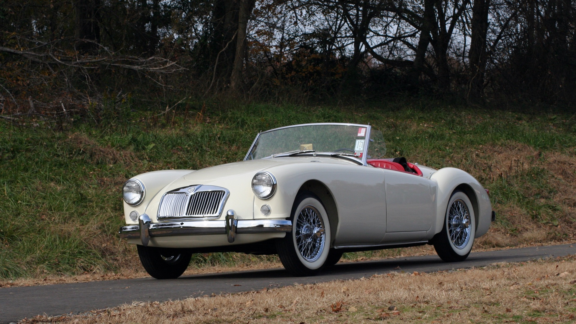 Used 1956 MG A ROADSTER / 4-SPD MAN / FULLY RESTORED / ALL NEW / SHOWROOM CONDITION for sale Sold at Formula Imports in Charlotte NC 28227 2