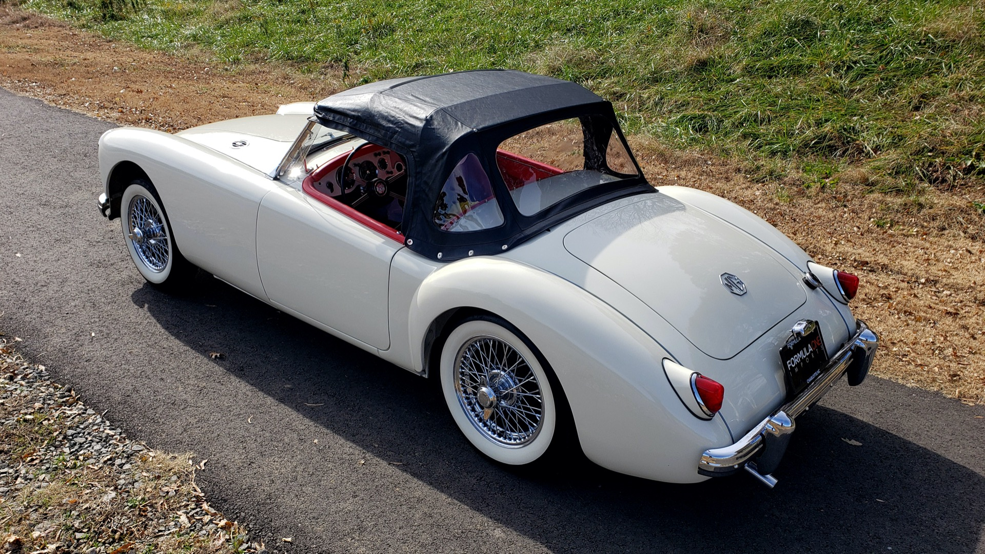 Used 1956 MG A ROADSTER / 4-SPD MAN / FULLY RESTORED / ALL NEW for sale $33,950 at Formula Imports in Charlotte NC 28227 20