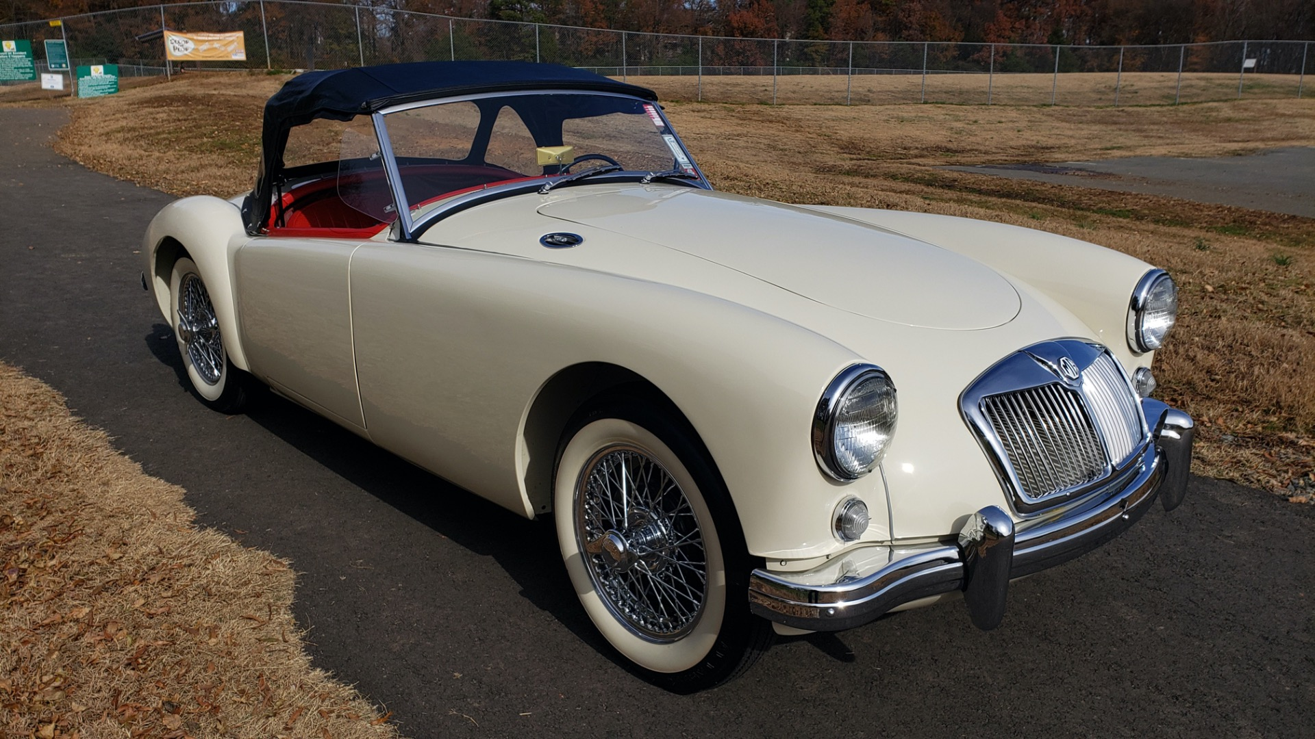 Used 1956 MG A ROADSTER / 4-SPD MAN / FULLY RESTORED / ALL NEW / SHOWROOM CONDITION for sale Sold at Formula Imports in Charlotte NC 28227 21