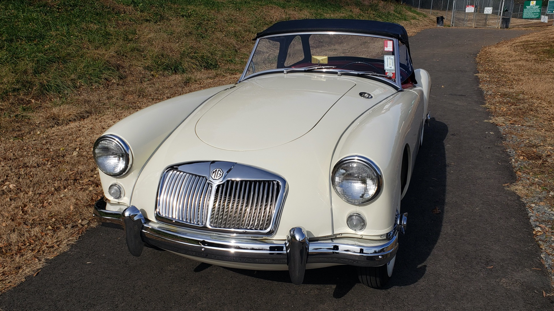 Used 1956 MG A ROADSTER / 4-SPD MAN / FULLY RESTORED / ALL NEW / SHOWROOM CONDITION for sale Sold at Formula Imports in Charlotte NC 28227 26