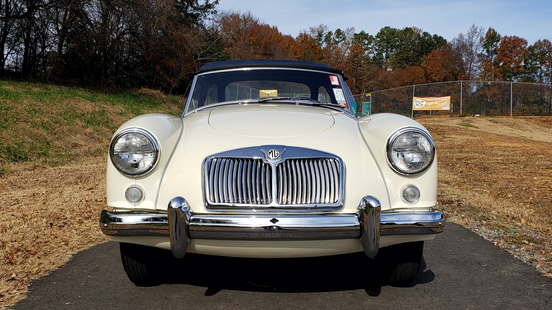 Used 1956 MG A ROADSTER / 4-SPD MAN / FULLY RESTORED / ALL NEW / SHOWROOM CONDITION for sale Sold at Formula Imports in Charlotte NC 28227 27