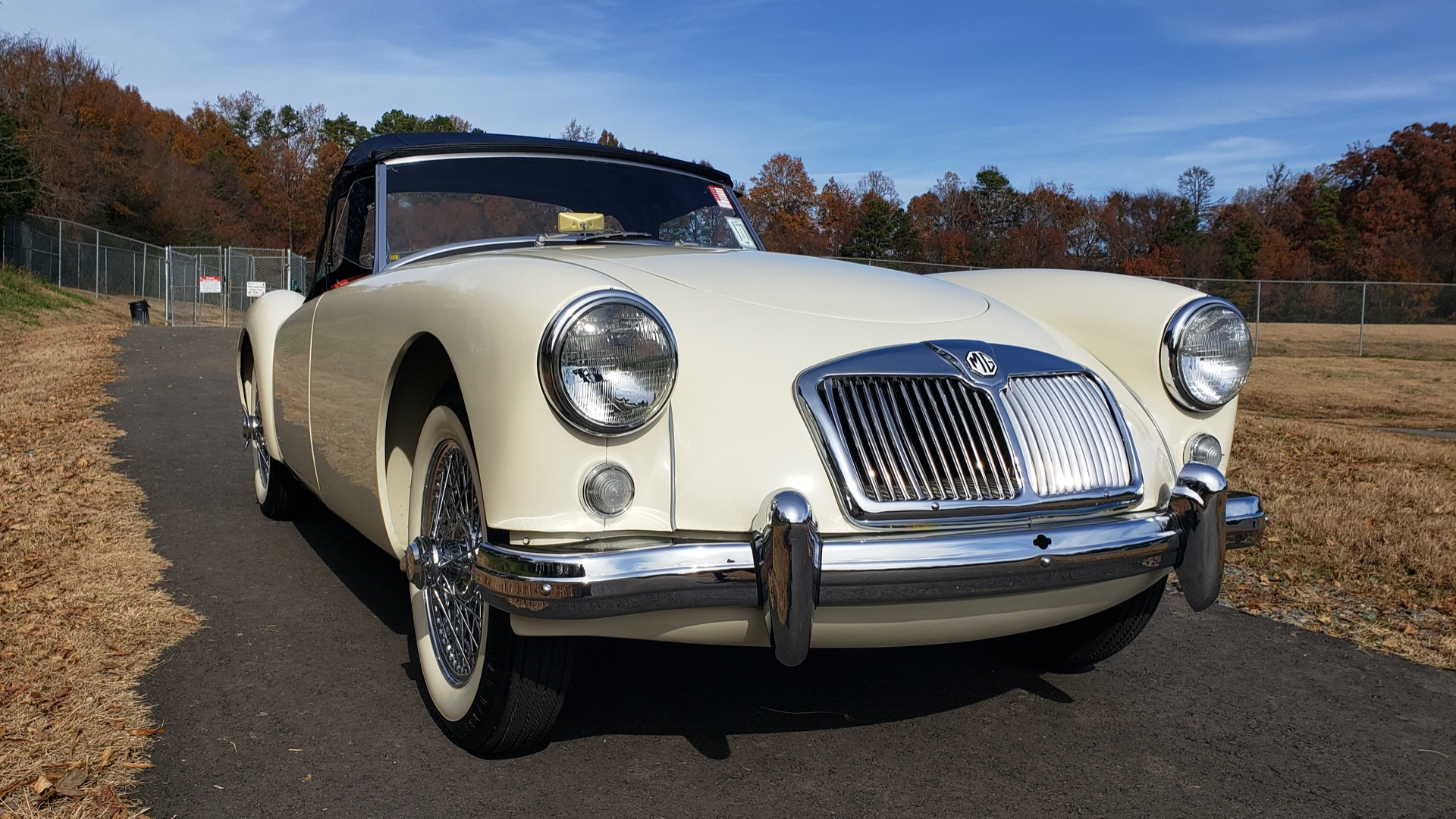 Used 1956 MG A ROADSTER / 4-SPD MAN / FULLY RESTORED / ALL NEW / SHOWROOM CONDITION for sale Sold at Formula Imports in Charlotte NC 28227 28