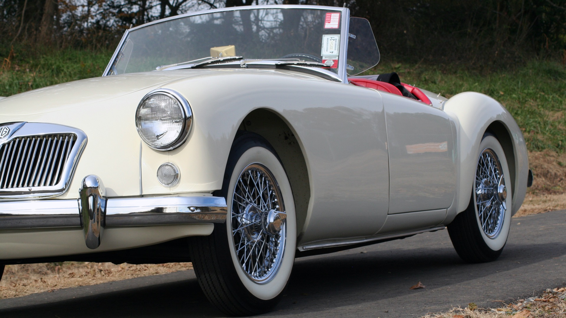Used 1956 MG A ROADSTER / 4-SPD MAN / FULLY RESTORED / ALL NEW / SHOWROOM CONDITION for sale Sold at Formula Imports in Charlotte NC 28227 3