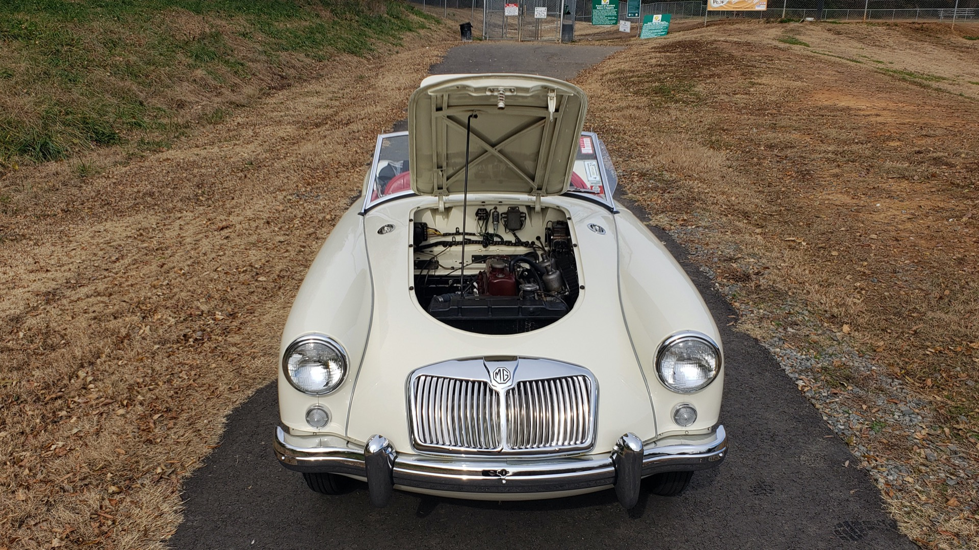 Used 1956 MG A ROADSTER / 4-SPD MAN / FULLY RESTORED / ALL NEW / SHOWROOM CONDITION for sale $29,999 at Formula Imports in Charlotte NC 28227 33