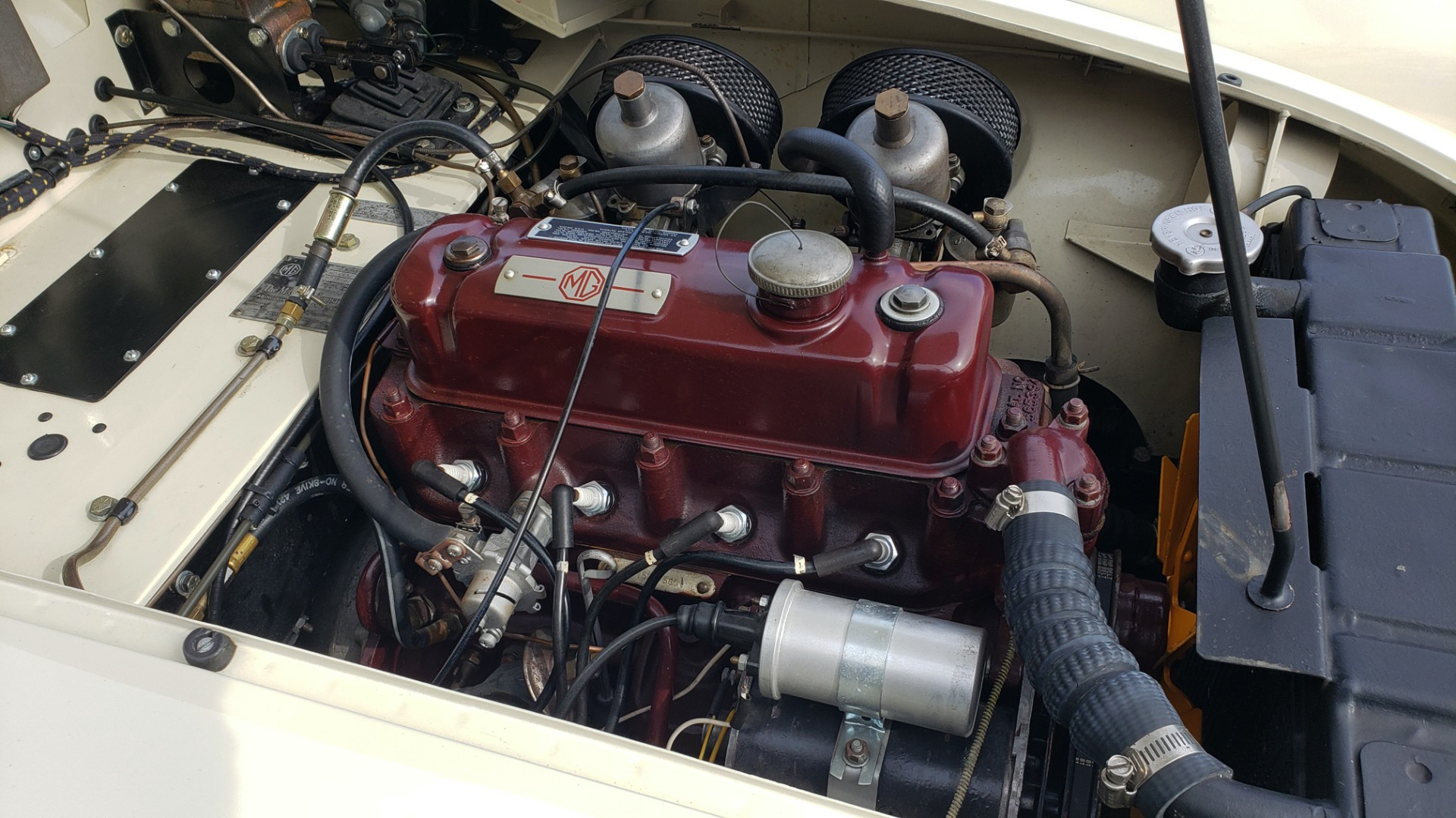 Used 1956 MG A ROADSTER / 4-SPD MAN / FULLY RESTORED / ALL NEW for sale $33,950 at Formula Imports in Charlotte NC 28227 34
