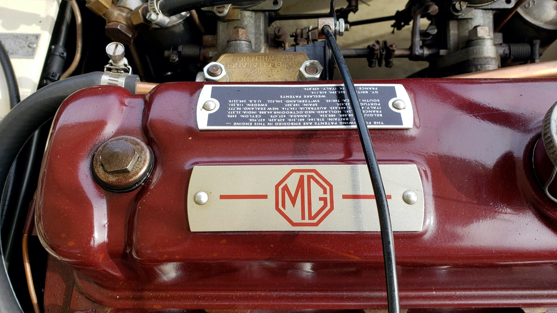 Used 1956 MG A ROADSTER / 4-SPD MAN / FULLY RESTORED / ALL NEW / SHOWROOM CONDITION for sale Sold at Formula Imports in Charlotte NC 28227 36