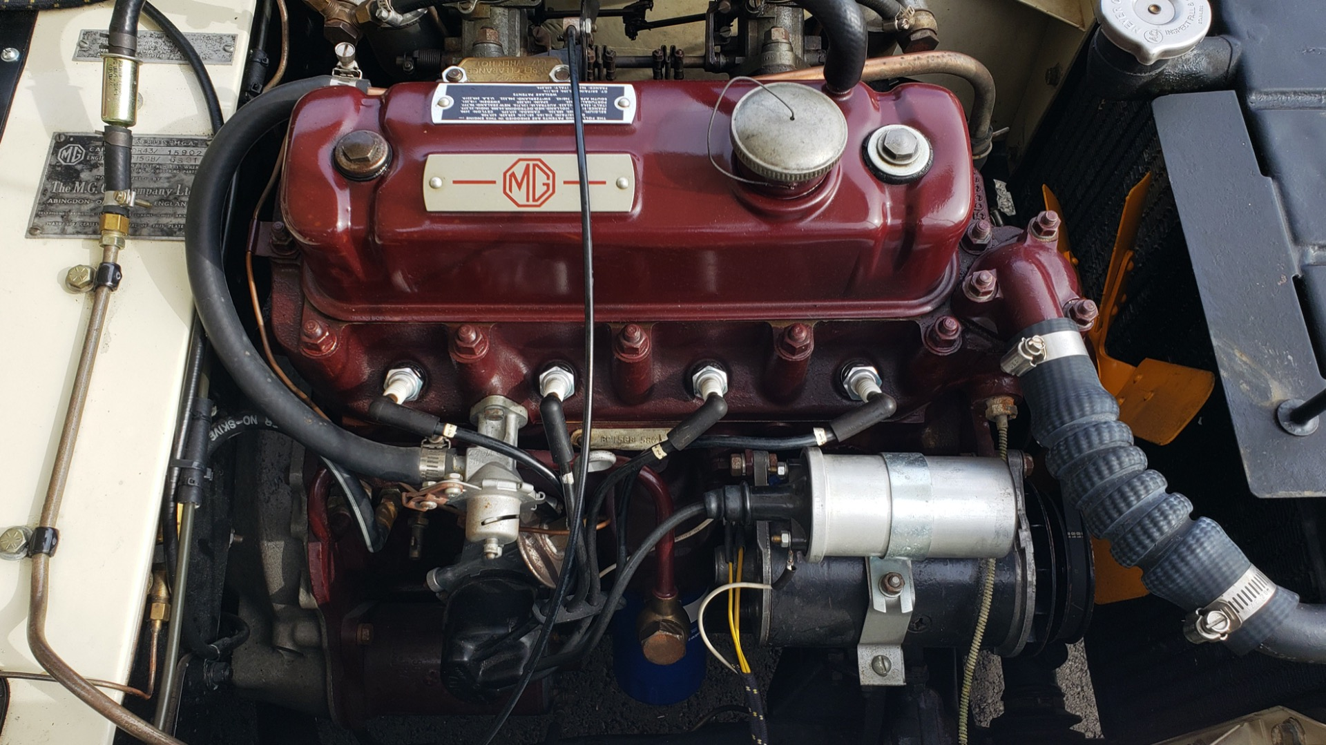 Used 1956 MG A ROADSTER / 4-SPD MAN / FULLY RESTORED / ALL NEW for sale $33,950 at Formula Imports in Charlotte NC 28227 38