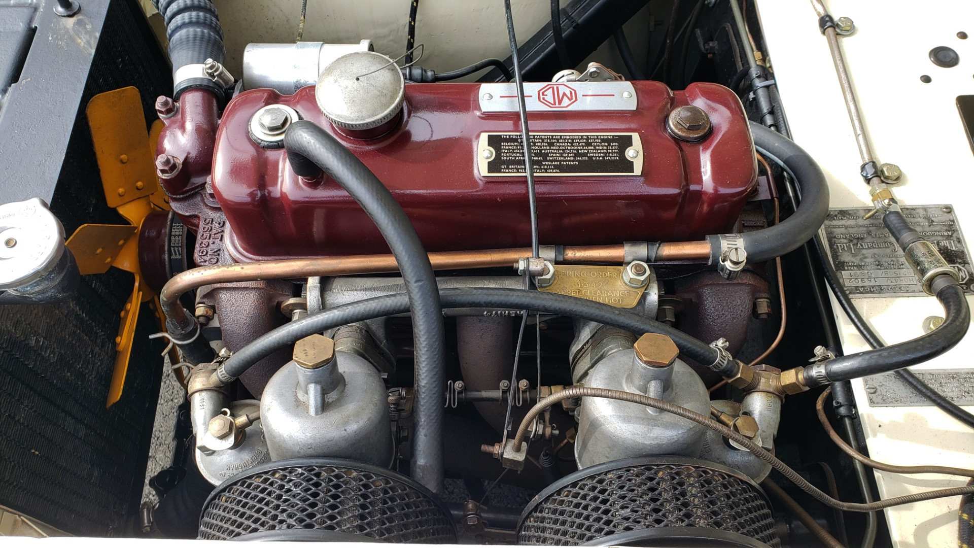 Used 1956 MG A ROADSTER / 4-SPD MAN / FULLY RESTORED / ALL NEW for sale $33,950 at Formula Imports in Charlotte NC 28227 41