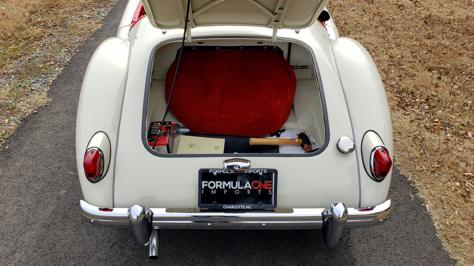 Used 1956 MG A ROADSTER / 4-SPD MAN / FULLY RESTORED / ALL NEW for sale $33,950 at Formula Imports in Charlotte NC 28227 44