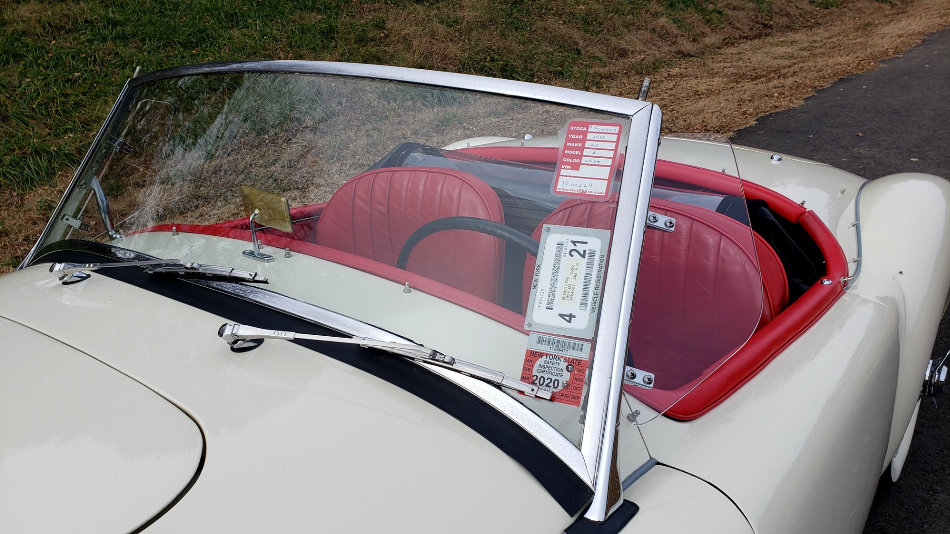 Used 1956 MG A ROADSTER / 4-SPD MAN / FULLY RESTORED / ALL NEW / SHOWROOM CONDITION for sale Sold at Formula Imports in Charlotte NC 28227 51