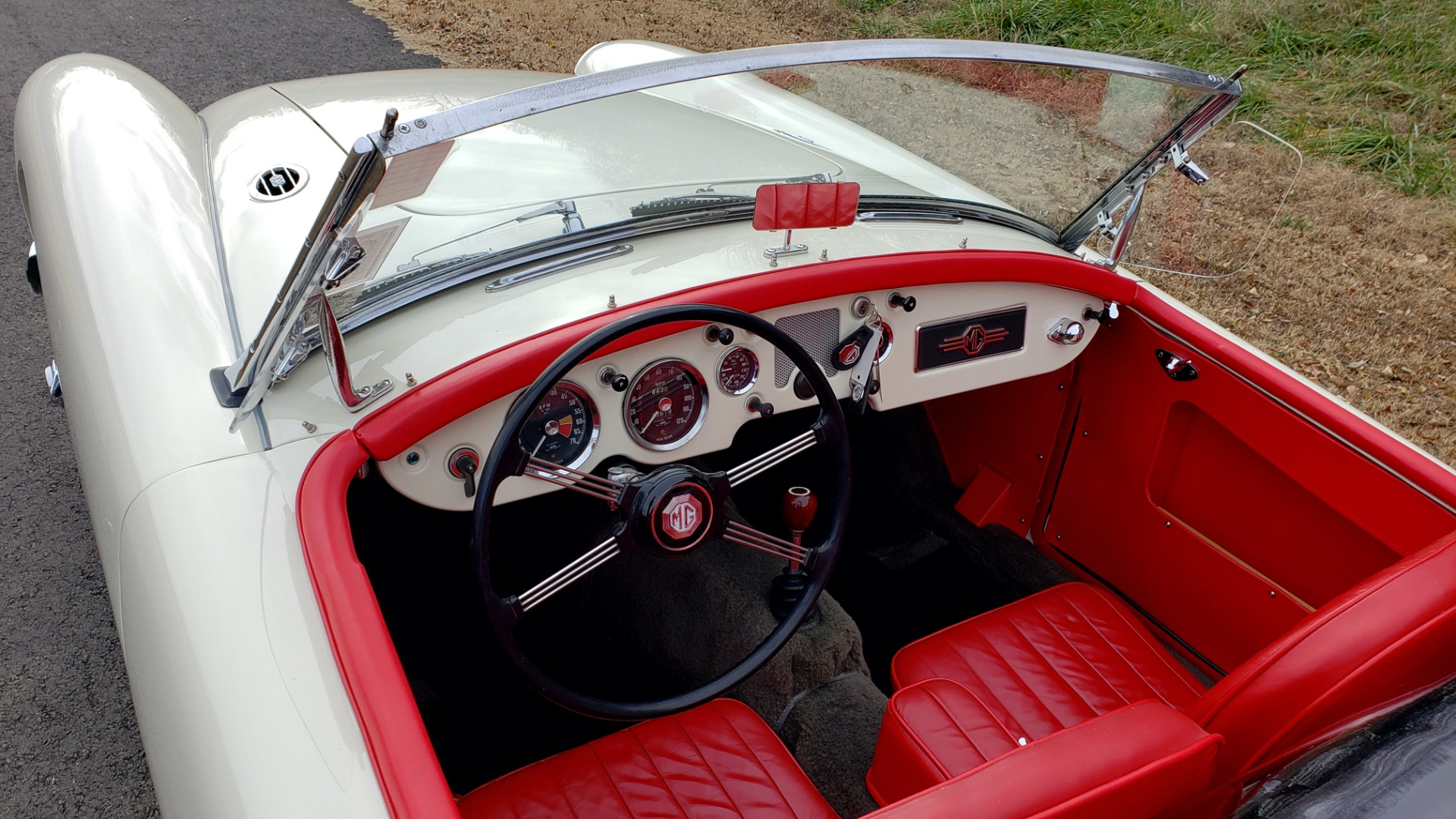 Used 1956 MG A ROADSTER / 4-SPD MAN / FULLY RESTORED / ALL NEW / SHOWROOM CONDITION for sale $29,999 at Formula Imports in Charlotte NC 28227 52