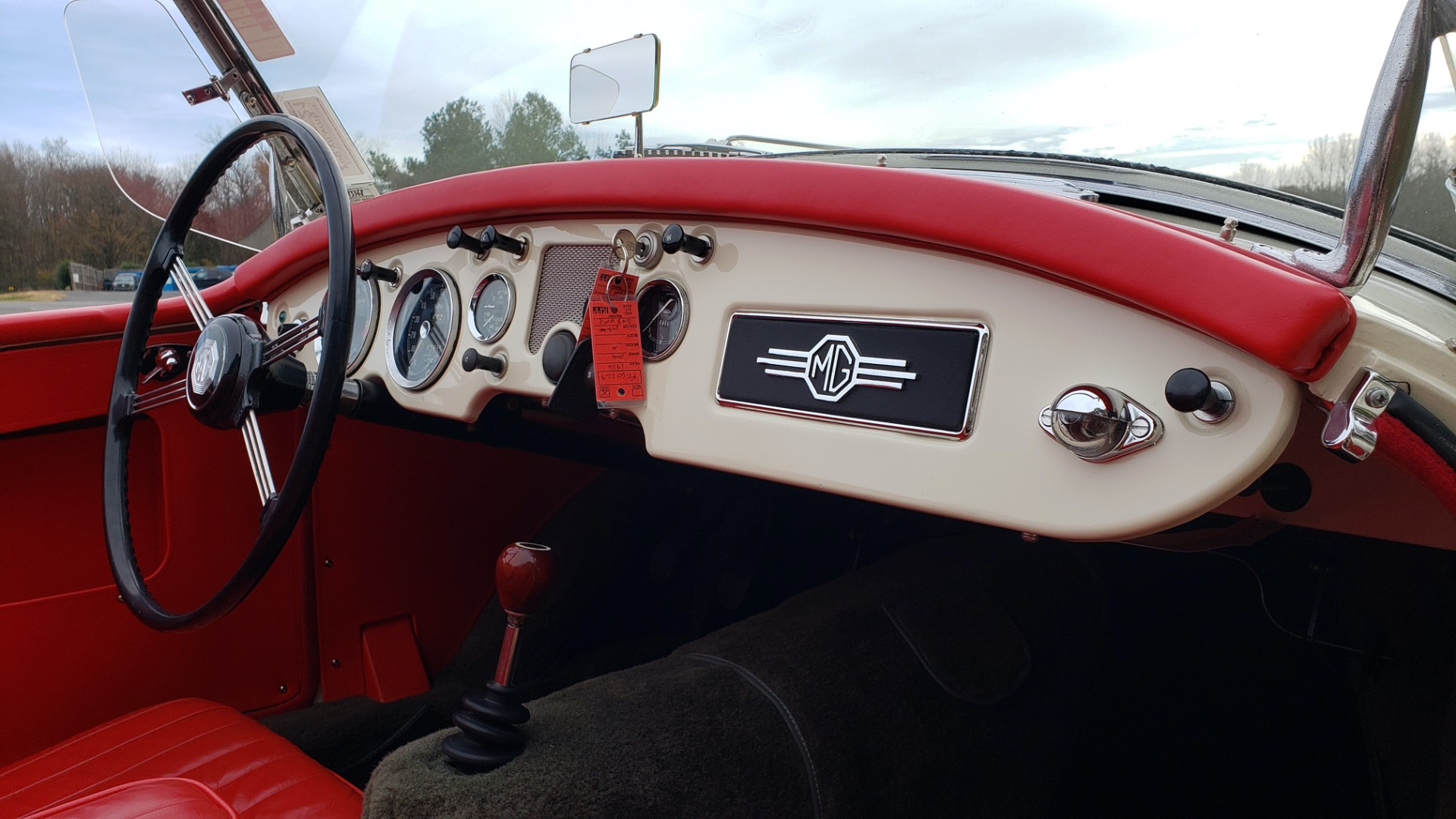 Used 1956 MG A ROADSTER / 4-SPD MAN / FULLY RESTORED / ALL NEW / SHOWROOM CONDITION for sale Sold at Formula Imports in Charlotte NC 28227 63