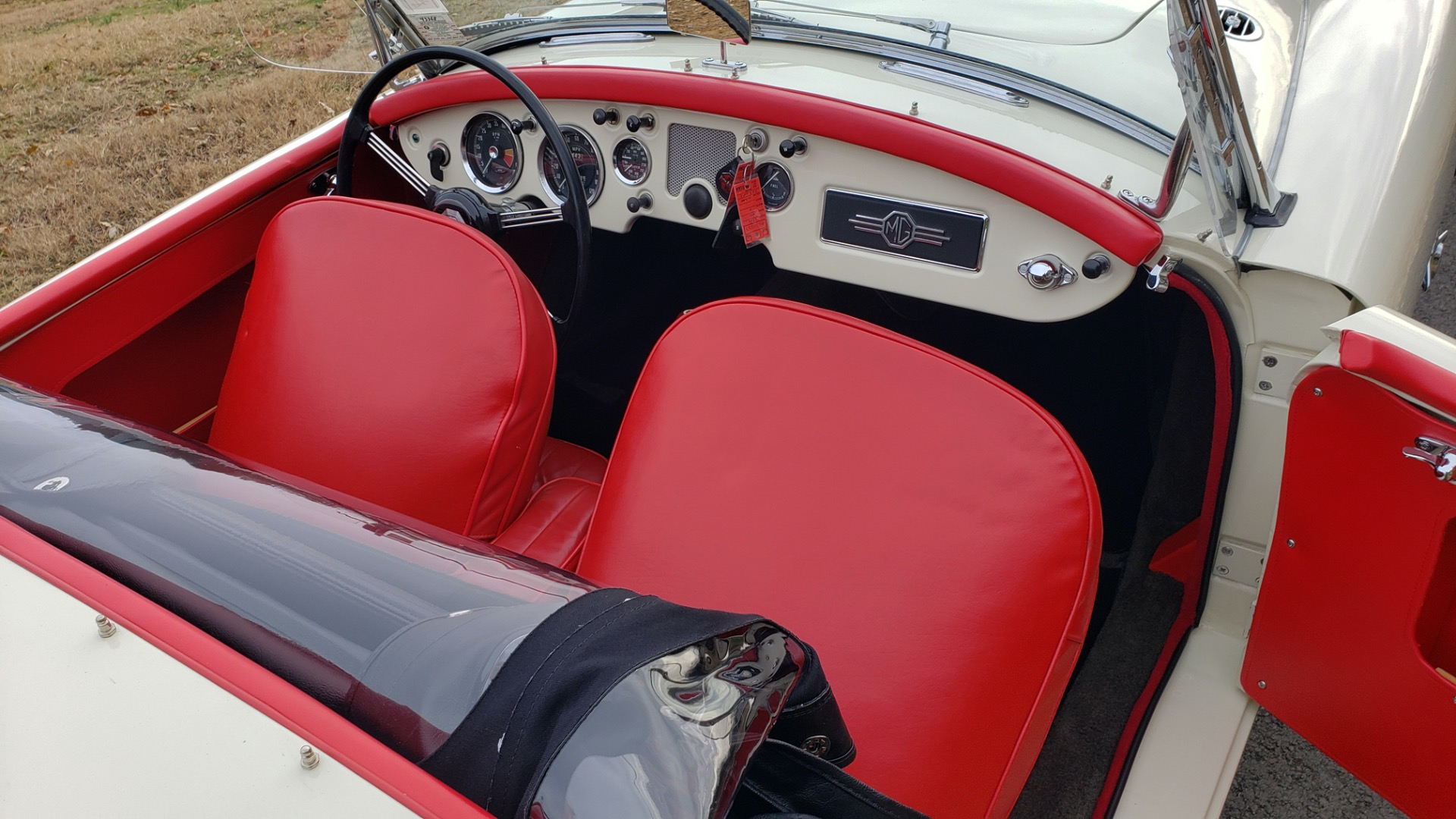 Used 1956 MG A ROADSTER / 4-SPD MAN / FULLY RESTORED / ALL NEW for sale $33,950 at Formula Imports in Charlotte NC 28227 64