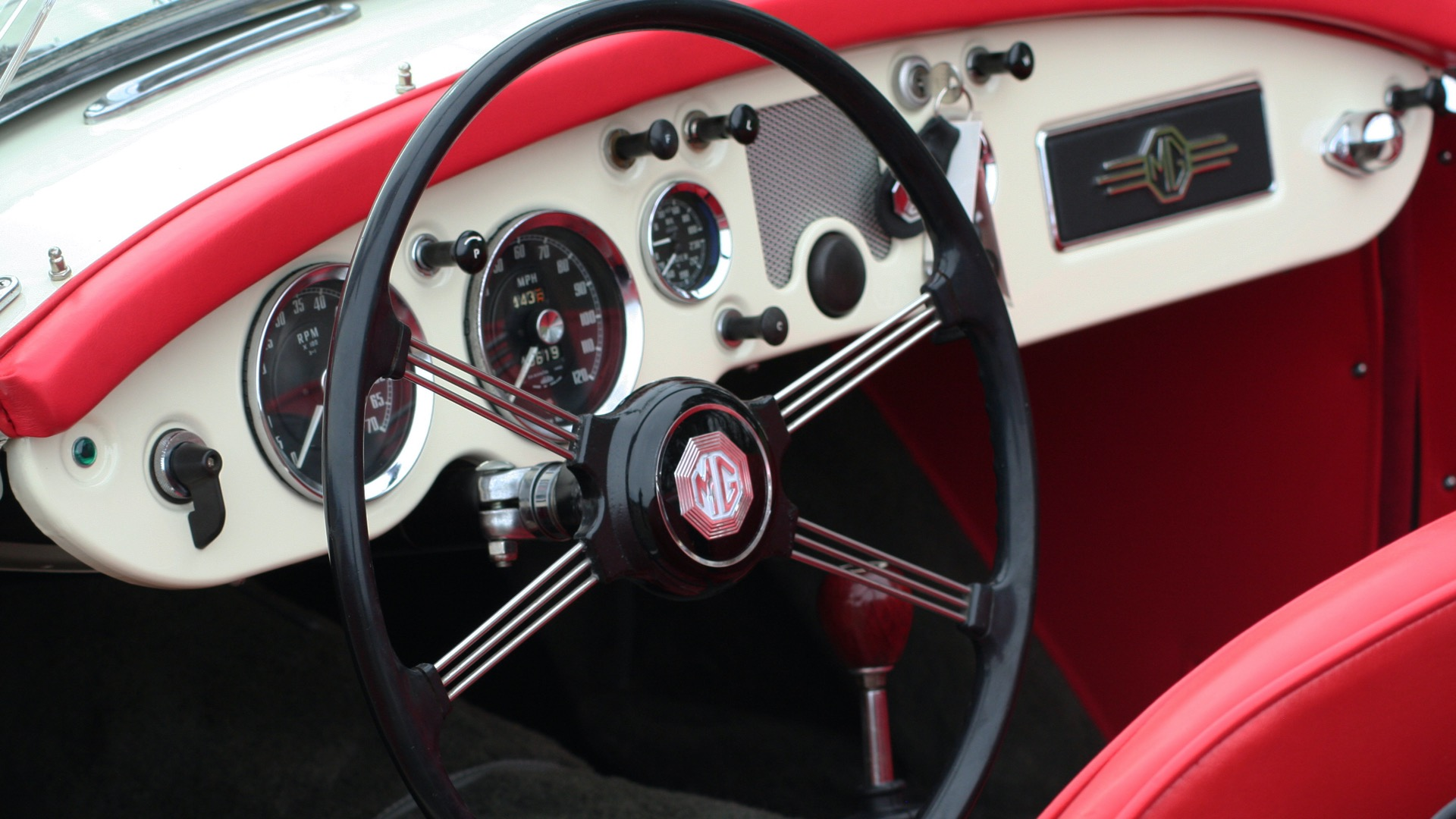Used 1956 MG A ROADSTER / 4-SPD MAN / FULLY RESTORED / ALL NEW / SHOWROOM CONDITION for sale Sold at Formula Imports in Charlotte NC 28227 72