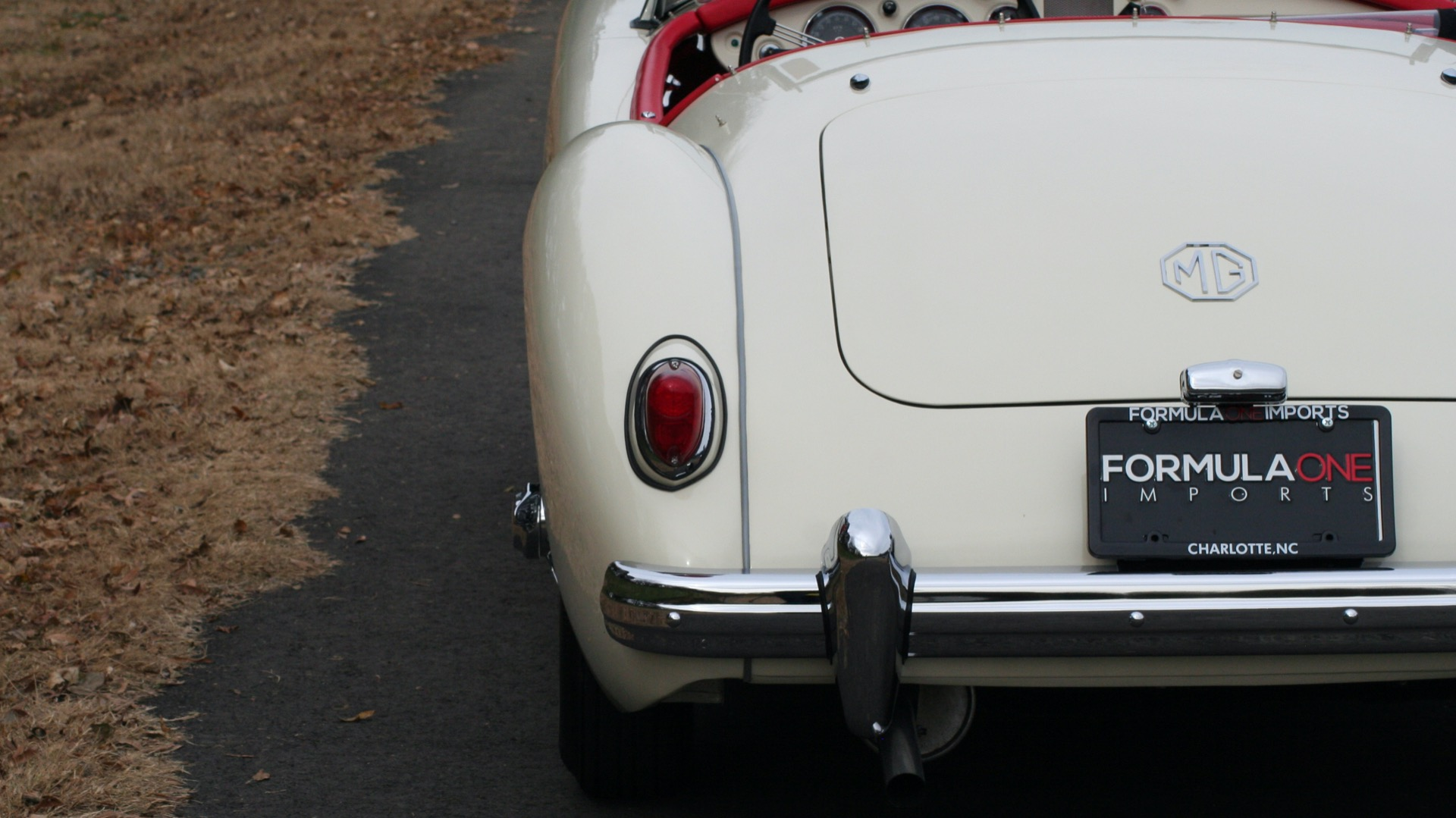 Used 1956 MG A ROADSTER / 4-SPD MAN / FULLY RESTORED / ALL NEW / SHOWROOM CONDITION for sale Sold at Formula Imports in Charlotte NC 28227 76