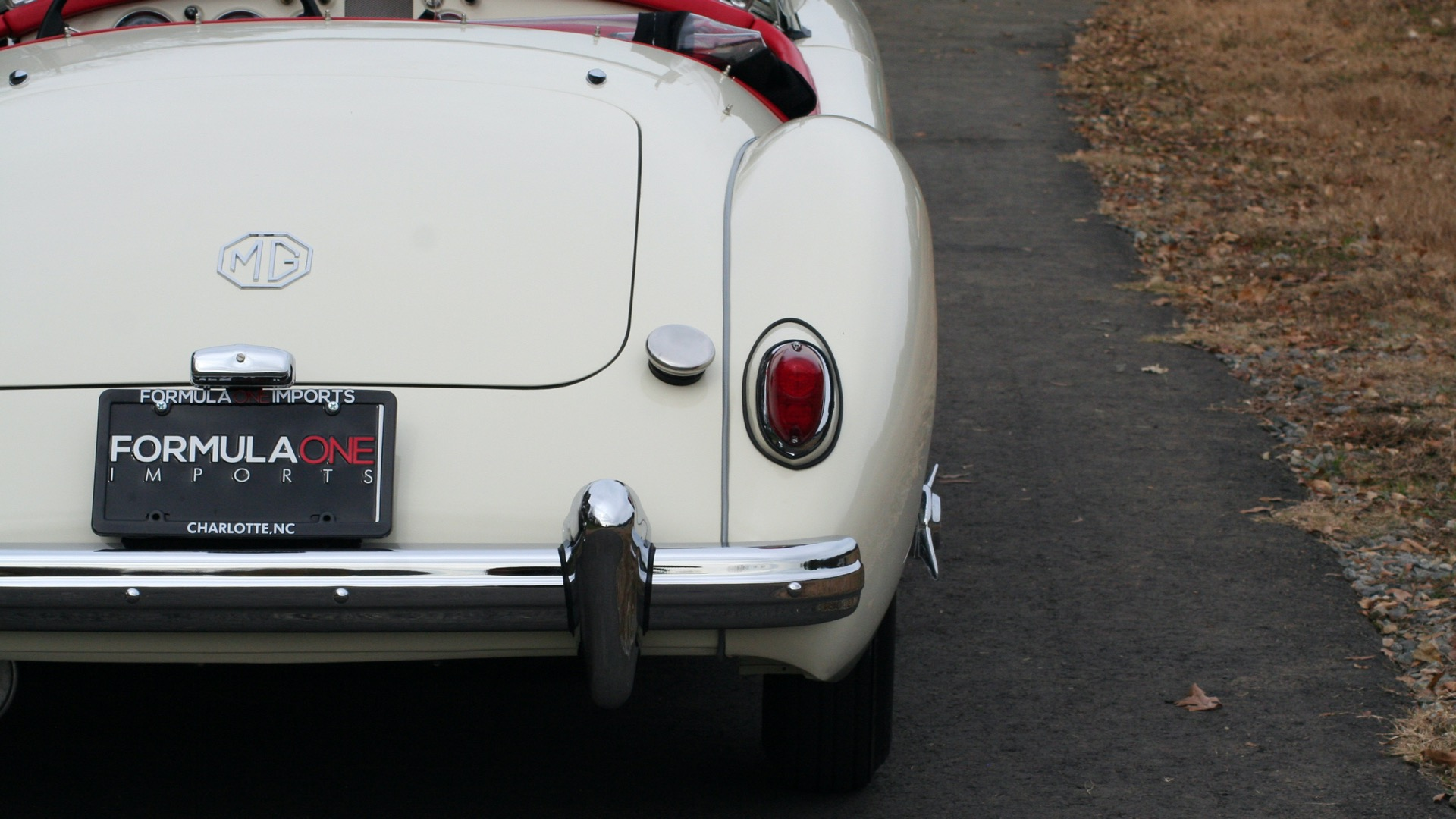 Used 1956 MG A ROADSTER / 4-SPD MAN / FULLY RESTORED / ALL NEW for sale $33,950 at Formula Imports in Charlotte NC 28227 77