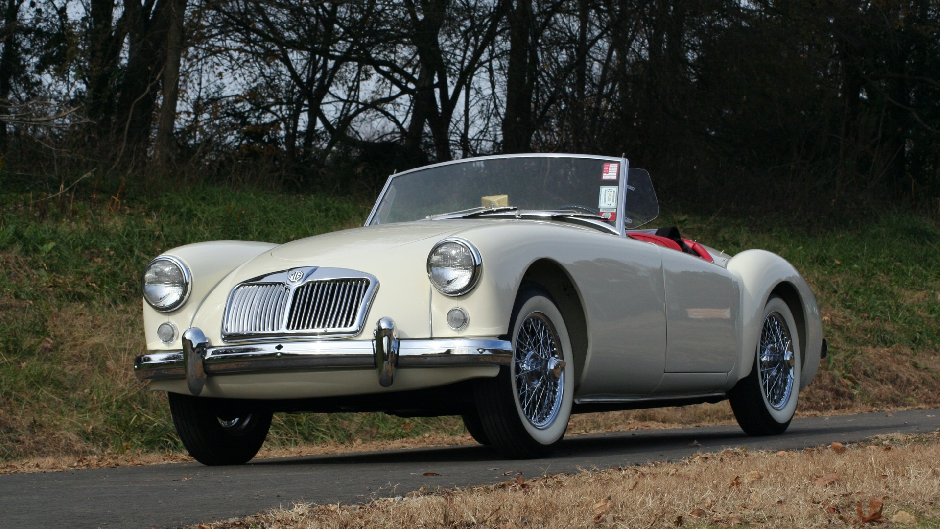 Used 1956 MG A ROADSTER / 4-SPD MAN / FULLY RESTORED / ALL NEW / SHOWROOM CONDITION for sale Sold at Formula Imports in Charlotte NC 28227 1