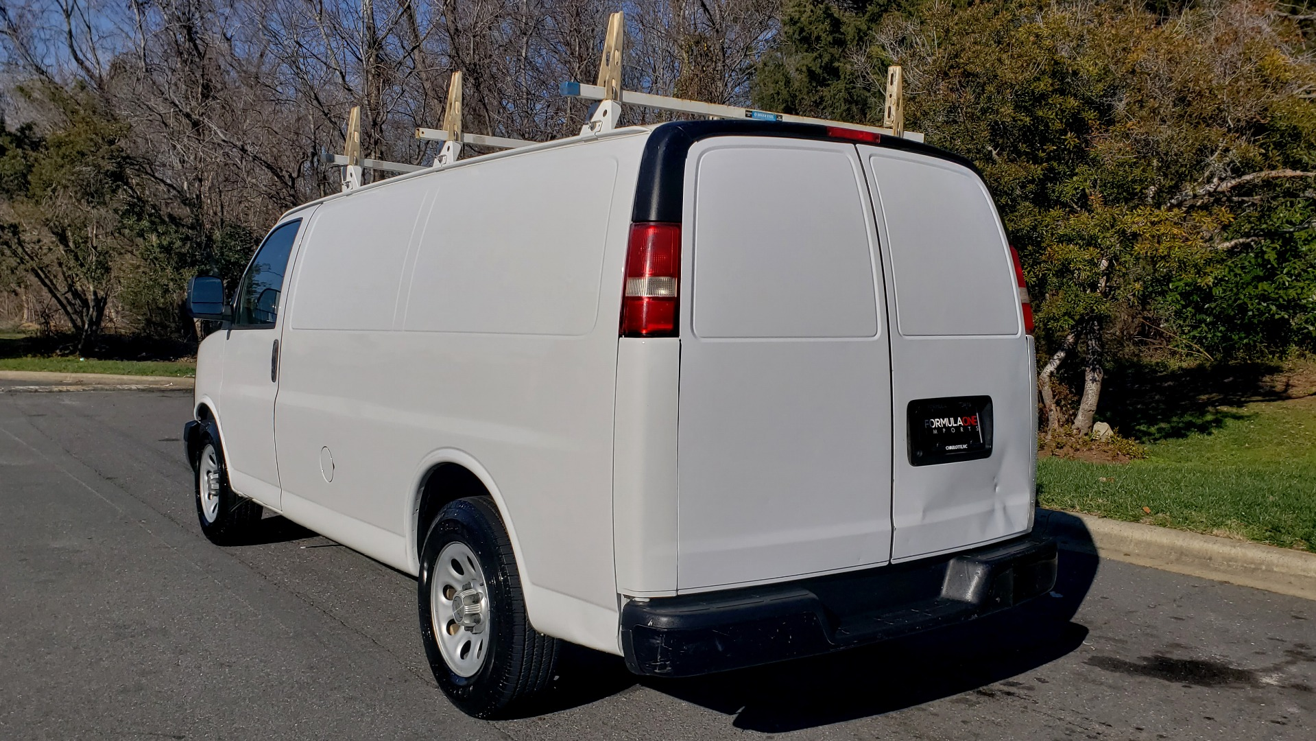 Used 2012 Chevrolet EXPRESS WORK VAN 1500 / 135 WB / 4.3L V6 / 4-SPD AUTO / ROOF RACK for sale $11,600 at Formula Imports in Charlotte NC 28227 3