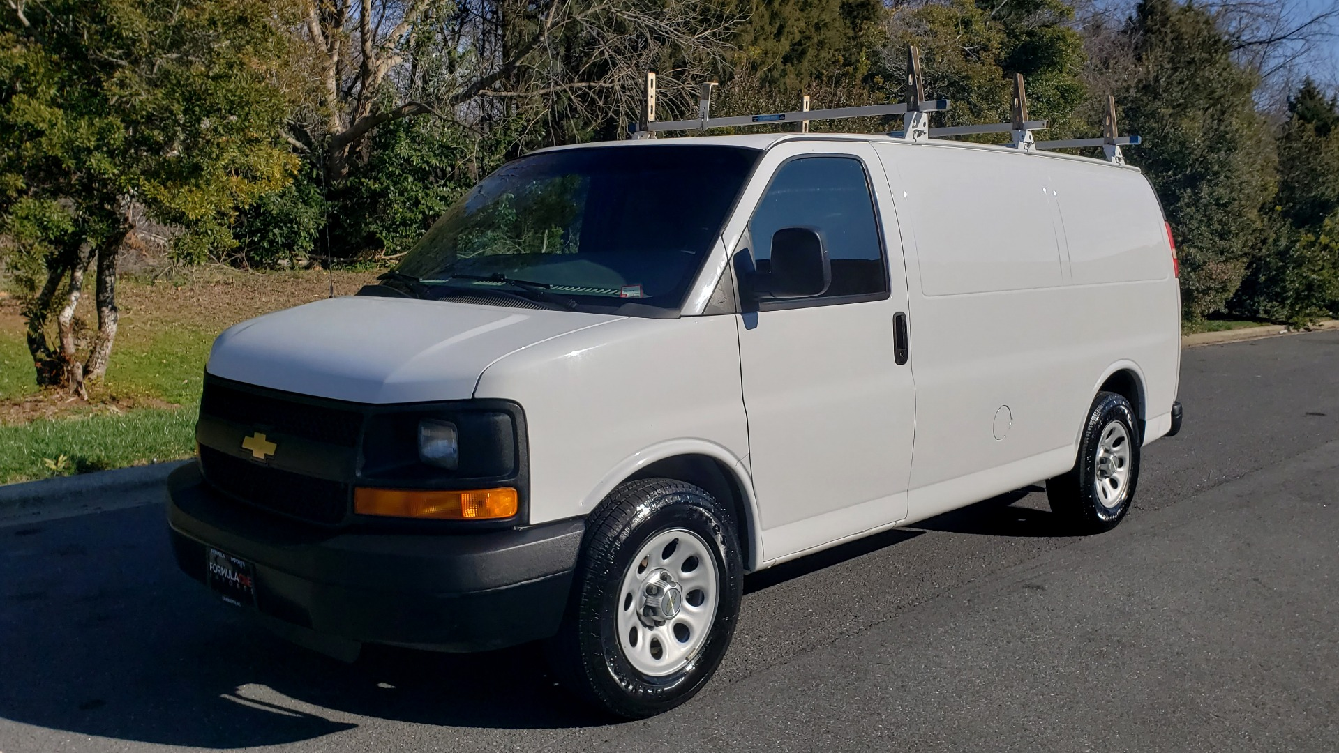 Used 2012 Chevrolet EXPRESS WORK VAN 1500 / 135 WB / 4.3L V6 / 4-SPD AUTO / ROOF RACK for sale $11,600 at Formula Imports in Charlotte NC 28227 1