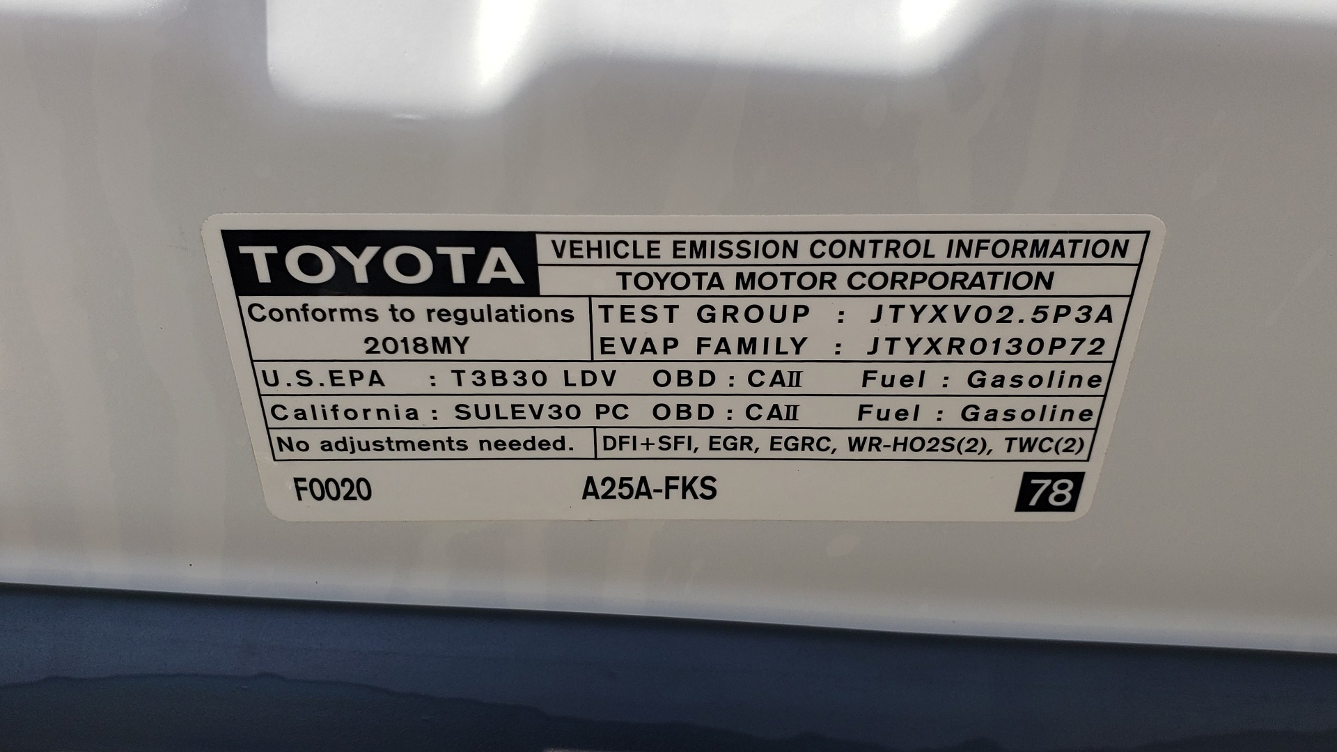 Used 2018 Toyota CAMRY XSE 2.5L SEDAN / 8-SPD AUTO / PANO-ROOF / 19IN WHEELS for sale Sold at Formula Imports in Charlotte NC 28227 12