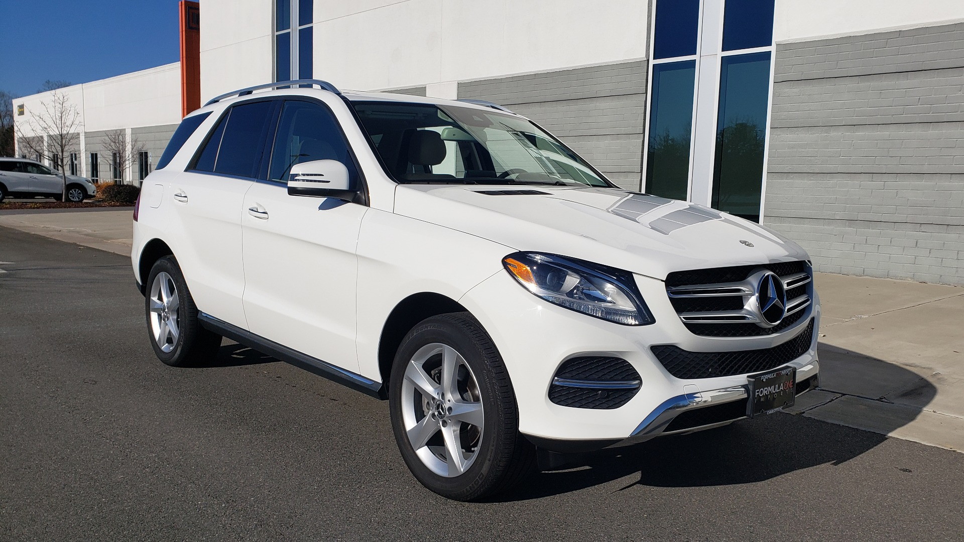 Used 2018 Mercedes-Benz GLE 350 4MATIC PREMIUM / NAV / H/K SOUND / REARVIEW for sale Sold at Formula Imports in Charlotte NC 28227 4