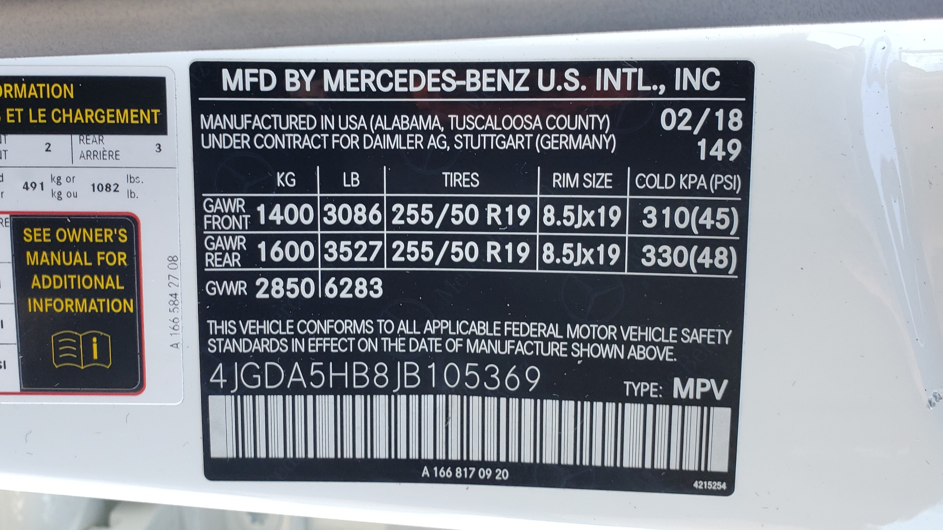 Used 2018 Mercedes-Benz GLE 350 4MATIC PREMIUM / NAV / H/K SOUND / REARVIEW for sale Sold at Formula Imports in Charlotte NC 28227 82