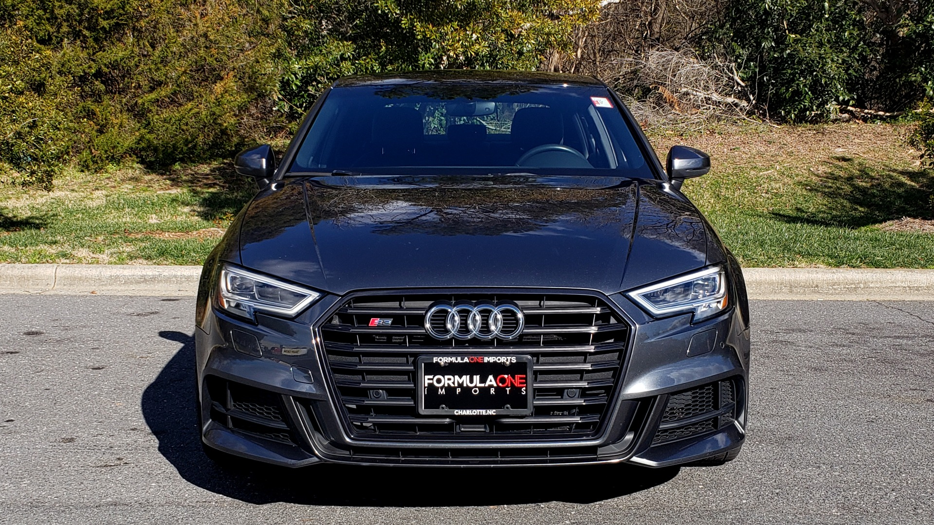 Used 2018 Audi S3 PREMIUM PLUS / TECH / NAV / BLACK OPTIC / S-SPORT / REARVIEW for sale $32,995 at Formula Imports in Charlotte NC 28227 17