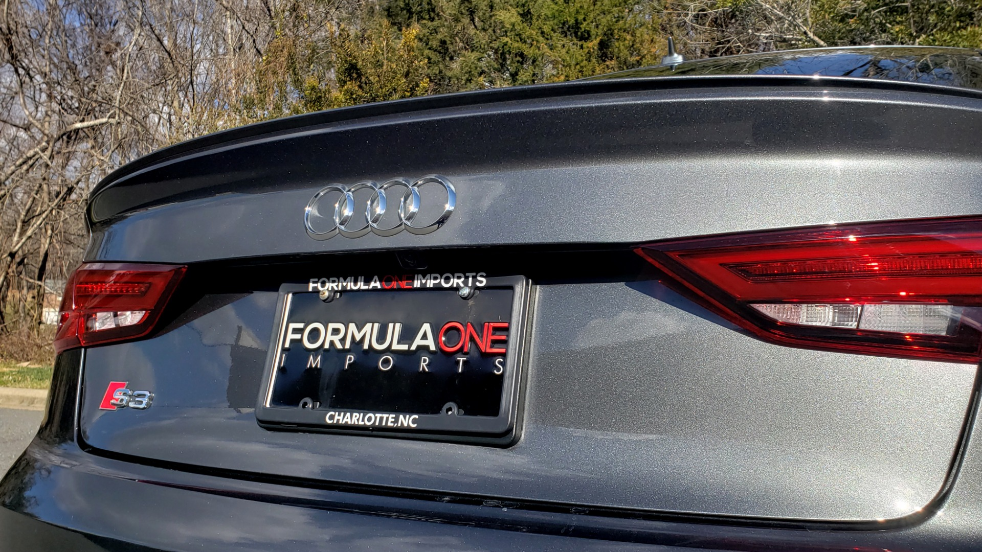 Used 2018 Audi S3 PREMIUM PLUS / TECH / NAV / BLACK OPTIC / S-SPORT / REARVIEW for sale $32,995 at Formula Imports in Charlotte NC 28227 27