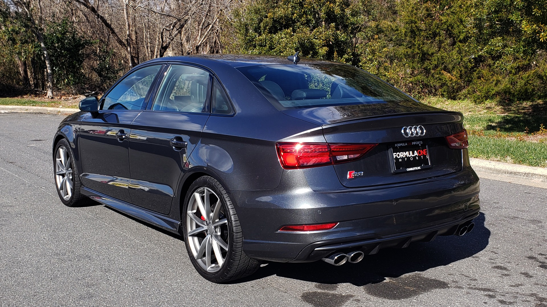 Used 2018 Audi S3 PREMIUM PLUS / TECH / NAV / BLACK OPTIC / S-SPORT / REARVIEW for sale $32,995 at Formula Imports in Charlotte NC 28227 3