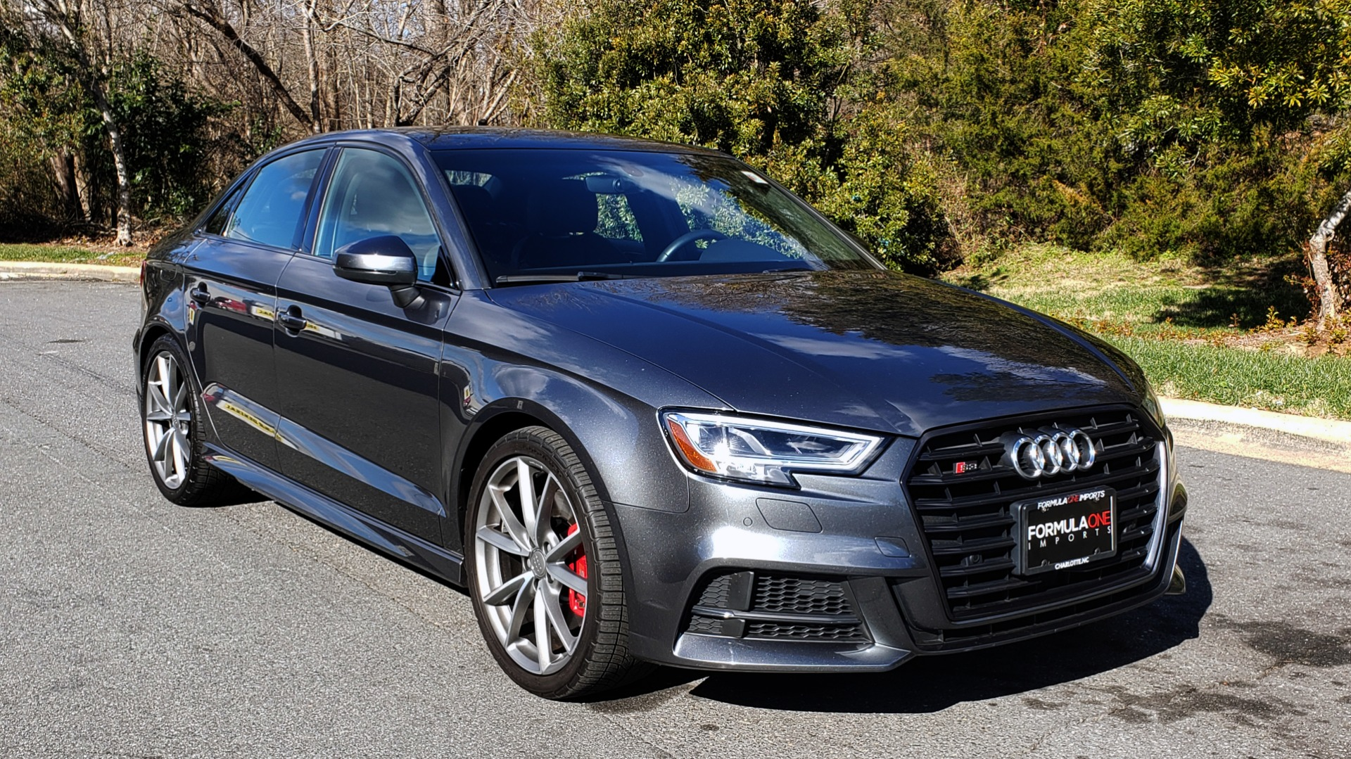 Used 2018 Audi S3 PREMIUM PLUS / TECH / NAV / BLACK OPTIC / S-SPORT / REARVIEW for sale $32,995 at Formula Imports in Charlotte NC 28227 4