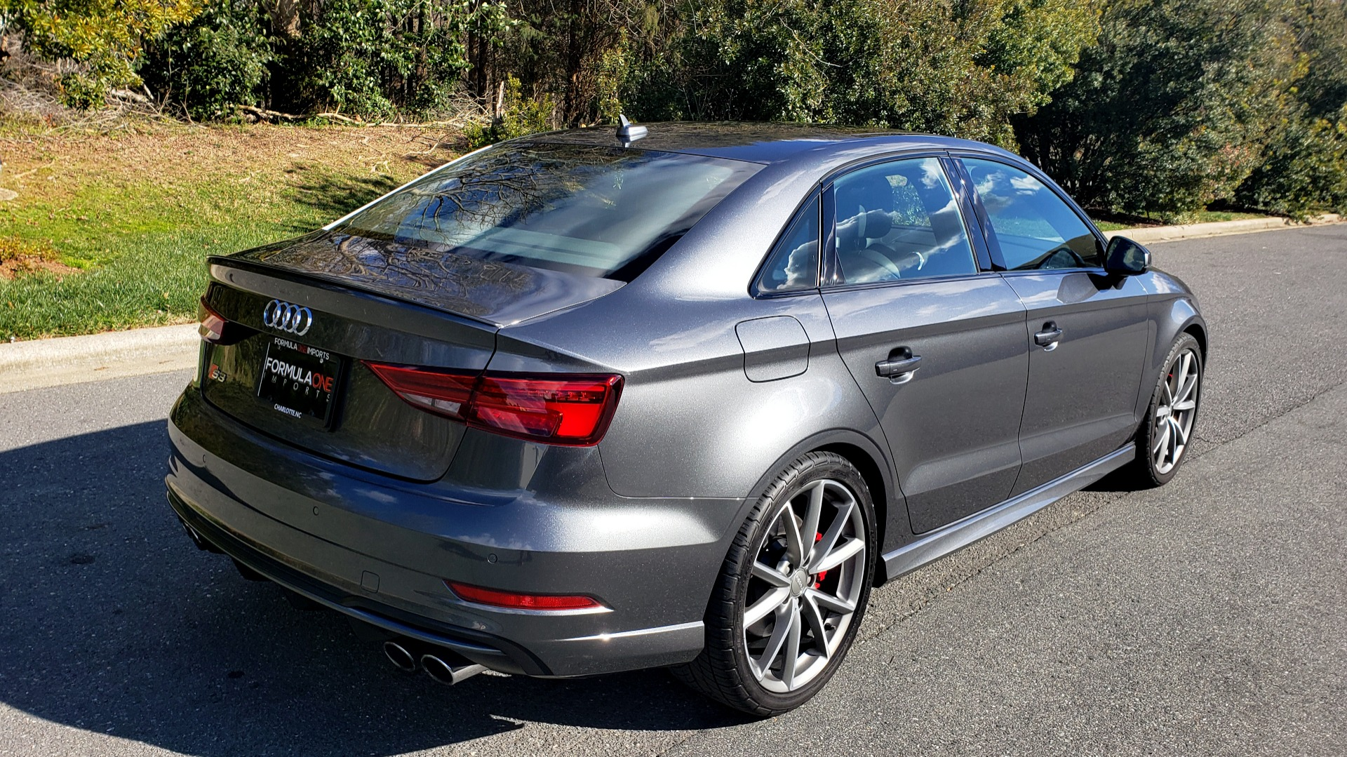 Used 2018 Audi S3 PREMIUM PLUS / TECH / NAV / BLACK OPTIC / S-SPORT / REARVIEW for sale $32,995 at Formula Imports in Charlotte NC 28227 6
