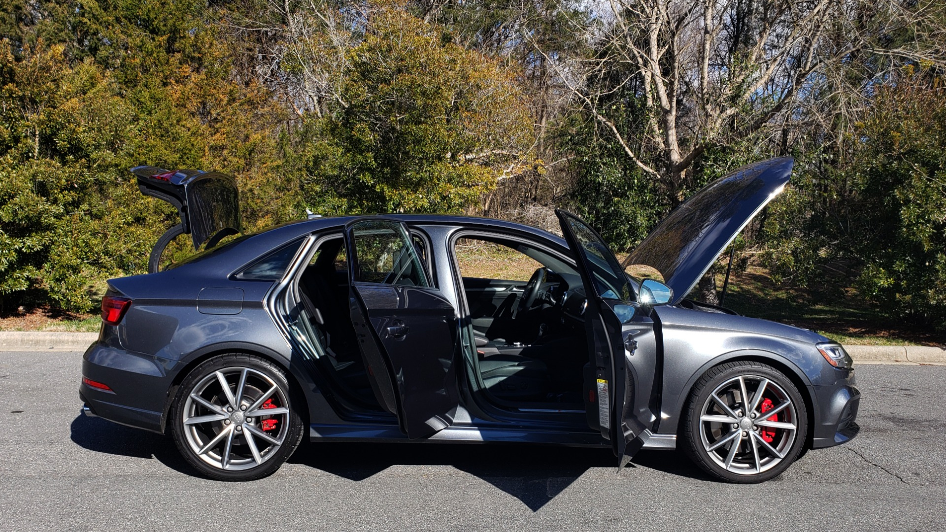 Used 2018 Audi S3 PREMIUM PLUS / TECH / NAV / BLACK OPTIC / S-SPORT / REARVIEW for sale $32,995 at Formula Imports in Charlotte NC 28227 9